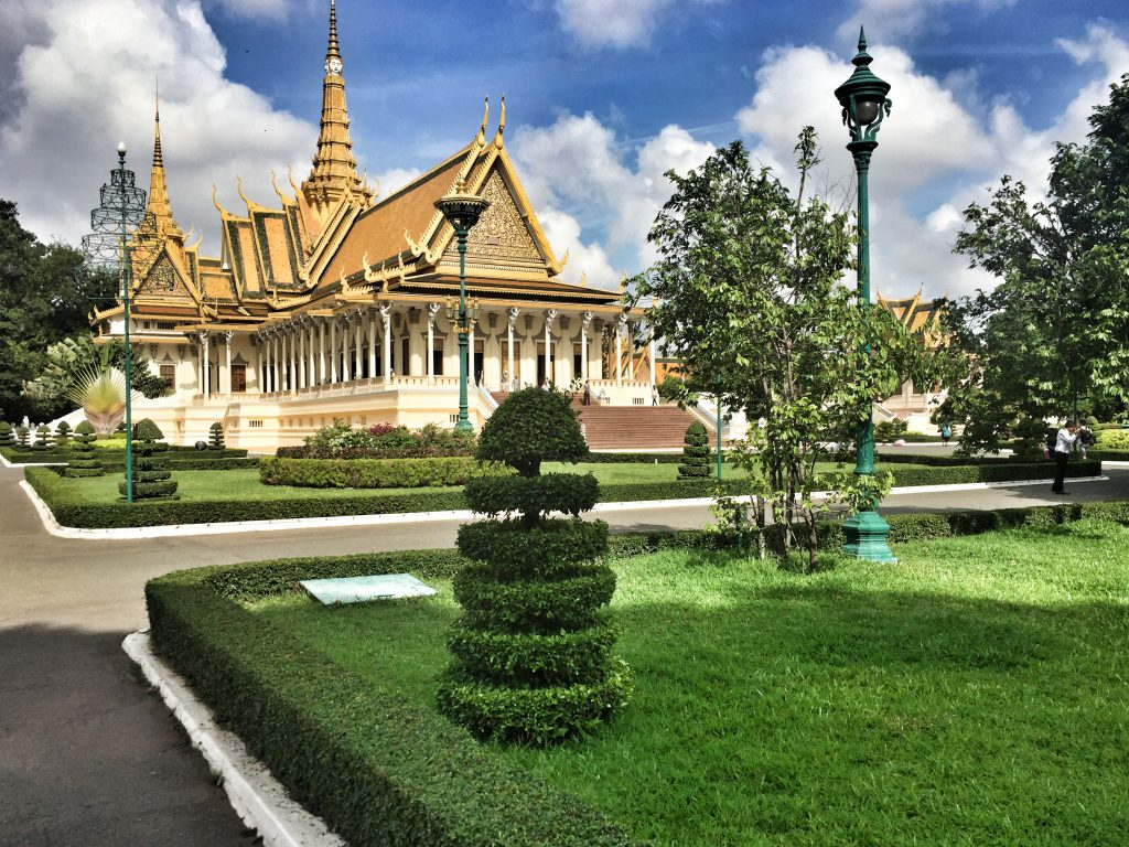 Königspalast und Silberpagode in Phnom Penh
