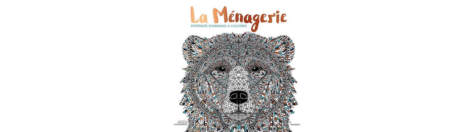 la-menagerie-portrait-danimaux-a-colorier-couverture