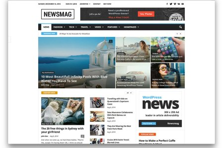 newsmag news magazine theme