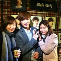 [Pic |Trans] 130310 Kang Minhyuk Attends Musical to Support MHGF Family