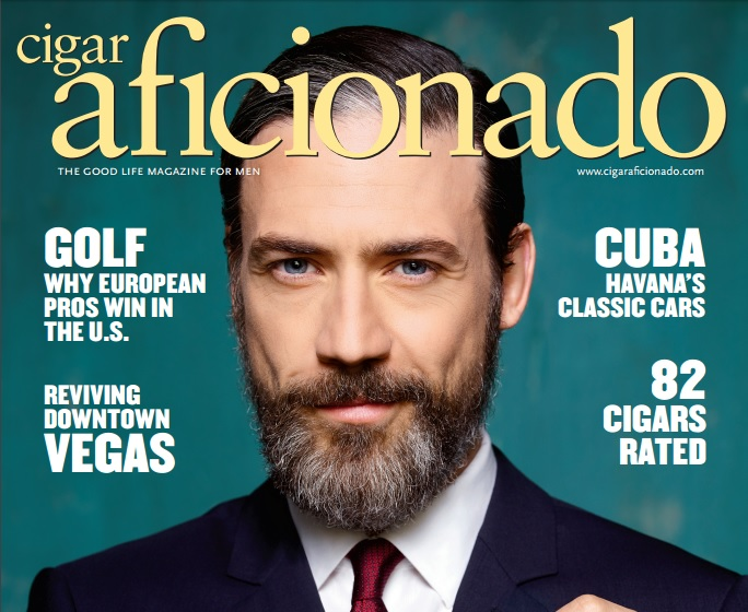 """Tyrant"": Adam Rayner on Bassam Al-Fayeed in Cigar Aficionado"