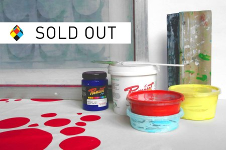Learn to Screen Print SOLD OUT