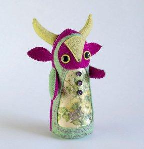 Oliviolette Art Doll by Hannakin
