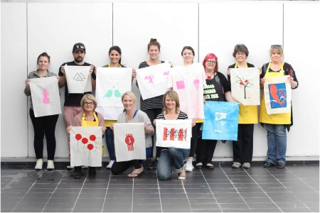 Colour Box Studio Workshop Learn to Screen Print in a Day with Liz Doust of Ambette - Image by Liz Doust 01