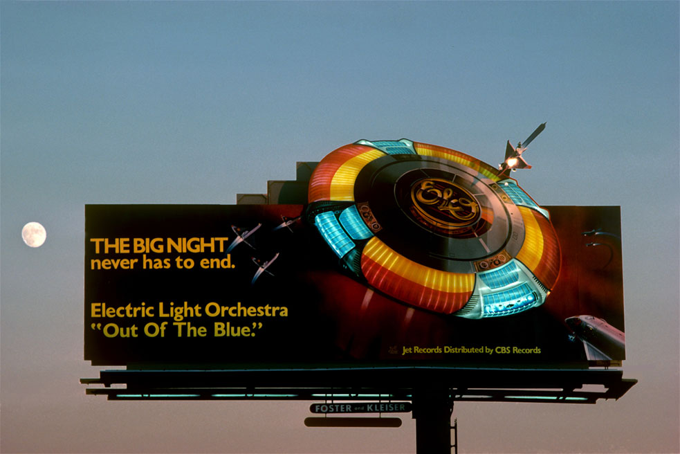 "Robert Landau ""Rock 'n' Roll Billboards of the Sunset Strip"""
