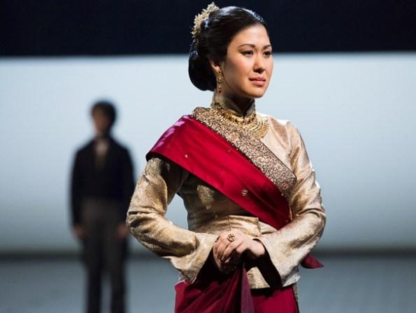 Sara Miles as Lady Thiang (Huffington Post Photo)