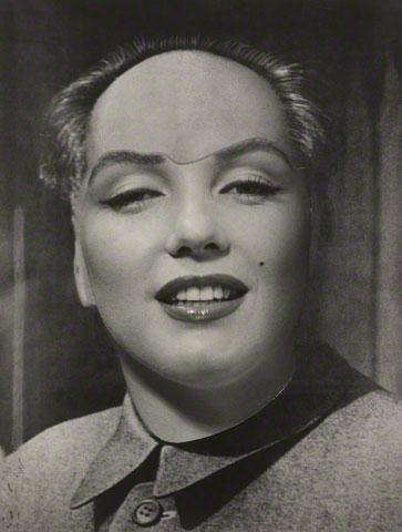 Retrato de Marilyn Monroe como Mao, montagem de Dalí e Philippe Halsman, 1952