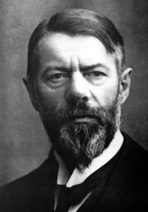 O sociólogo alemão Max Weber deu origem à sociologia compreensiva.