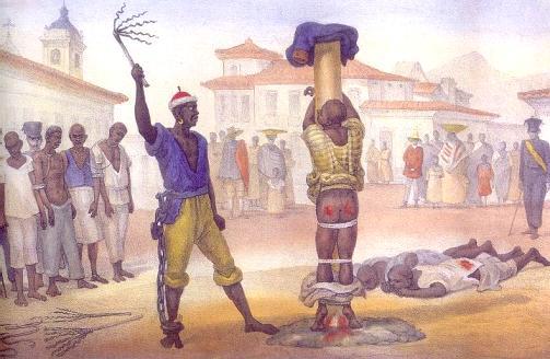 Castigo da chibata, de J.-B. Debret