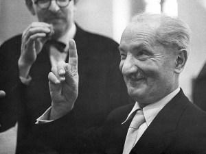 Haveria em Heidegger uma volta por buscar uma noção de verdade (Aletheia) nos pré-socráticos e pensar o Ser como um movimento Temporal e Espacial. Foto: Prospect Magazine.