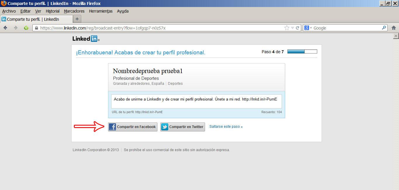 crear perfil en linkedin 5