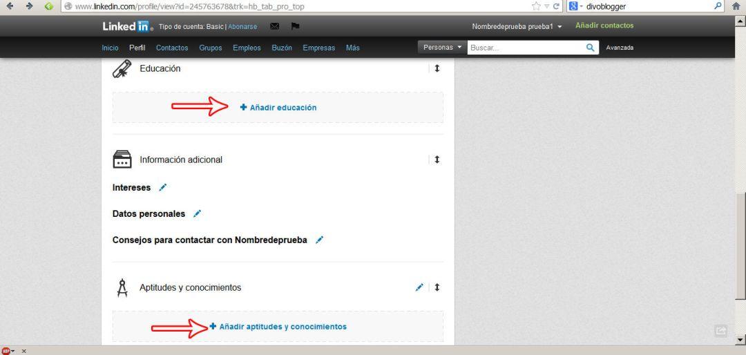 crear perfil en linkedin 9