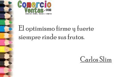 ¡Una persona optimista ve las cosas de la mejor manera!