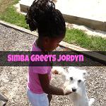 Come Wag Along YouTube: Simba Greets Jordyn