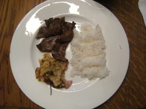 Kalbi (Korean Barbecued Beef)