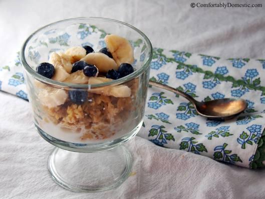 Easy Baked Oatmeal | ComfortablyDomestic.com