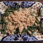 Savory Streusel-Topped Green Beans