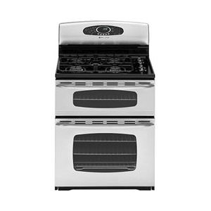 Maytag Gemini Series : MGR6875ADS 30 Freestanding Gas Double Oven Range - Stainless Steel
