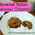Browned Butter Oatmeal Chippers
