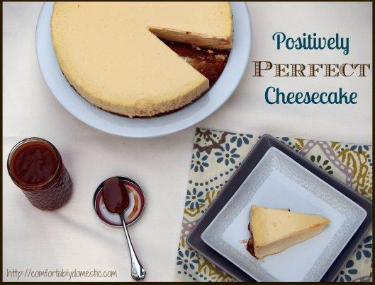 Perfect Cheesecake Splash