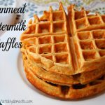 Sleepover Directed Blogging: Cornmeal Buttermilk Waffles