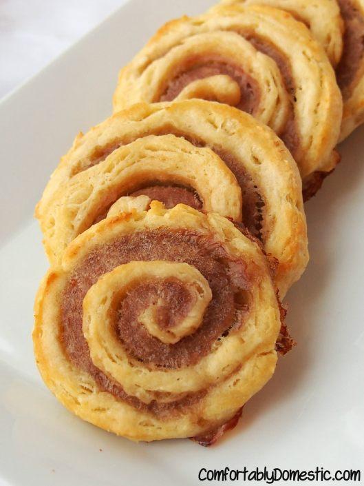 Sausage Pinwheels | ComfortablyDomestic.com