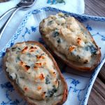 Not Your Mama's Twice Baked Potato: Spinach and Feta Baked Potato Boats