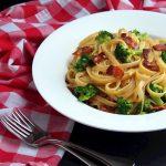 {Date Night} Broccoli Bacon Carbonara