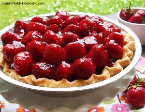 Celebrating Summer's Bounty with Berry Week, and a Fresh Strawberry Pie!