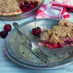 Cherry Apricot Crumb Pie, a.k.a. Squeezing in the Last Bites of Summer