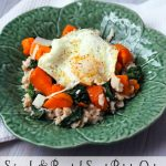 Spinach and Sweet Potato Oats