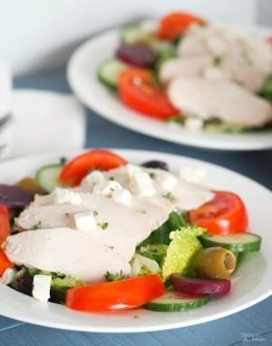 Chicken Greek Salad