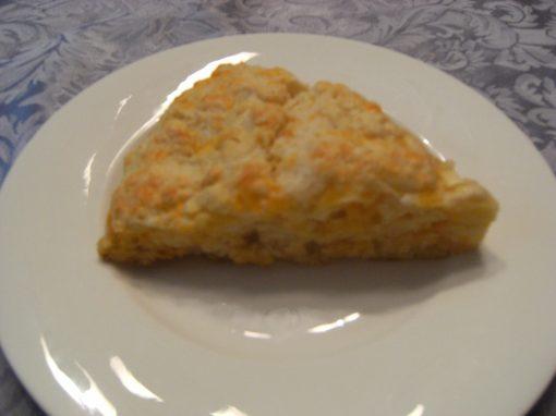 Cheddar-Apple Scones - Get the recipe from ComfortablyDomestic.com