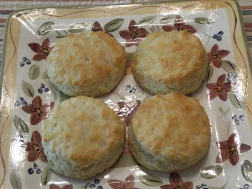 Fluffy Homemade Biscuits Recipe, from ComfortablyDomestic.com