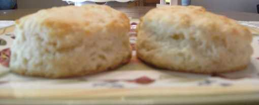 Homemade Biscuits Recipe, from ComfortablyDomestic.com