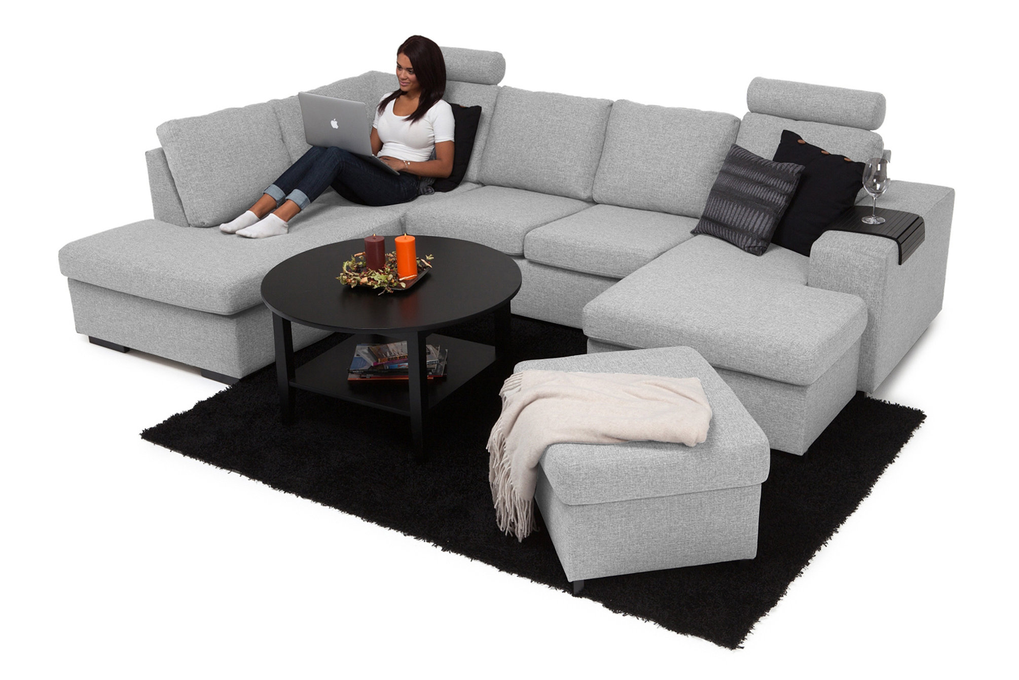 Innovative Friends Closer U Shaped Couch Slipcovers U Shaped Couch Restoration Hardware If Looking A U Shaped Sectional This Is One U Shaped Couch Reviews Bring Family houzz-03 U Shaped Couch
