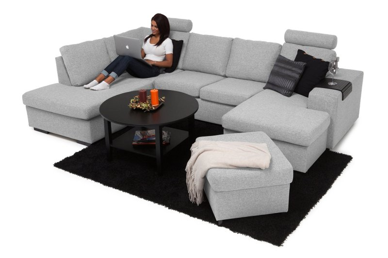 Large Of U Shaped Couch