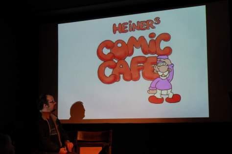 Bilder vom Comic Café vom 14.02.2016