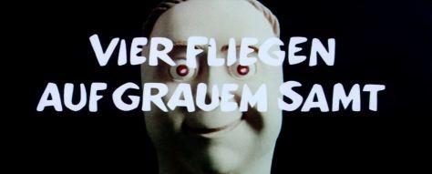 Dario Argento: Vier Fliegen auf grauem Samt