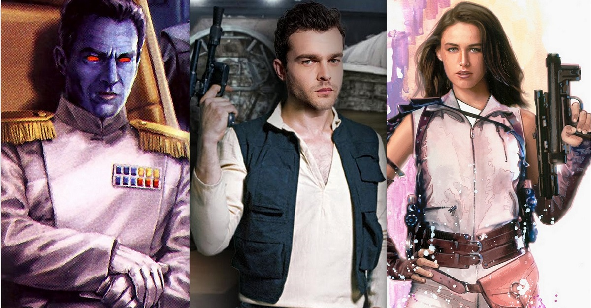 8 Characters Confirmed To Appear In Han Solo Spin-Off Movie (2018).