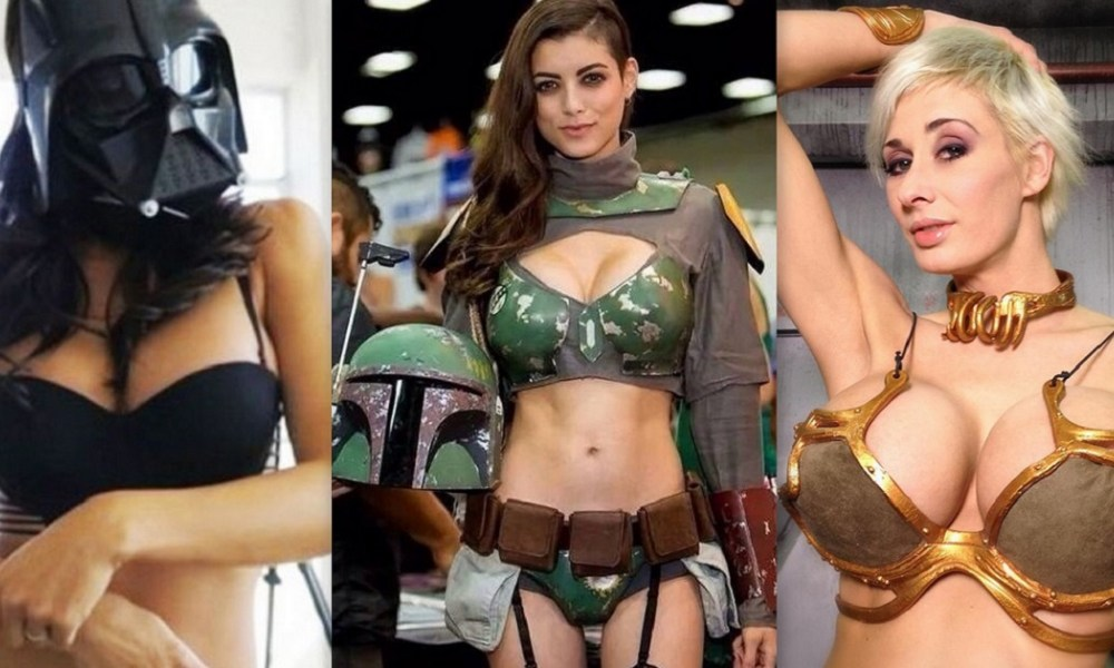Top 10 Star Wars Cosplays By Famous Actresss And Cosplayers!