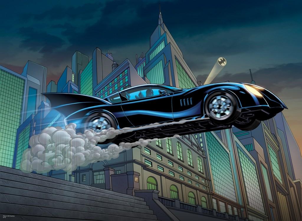batmobile comics