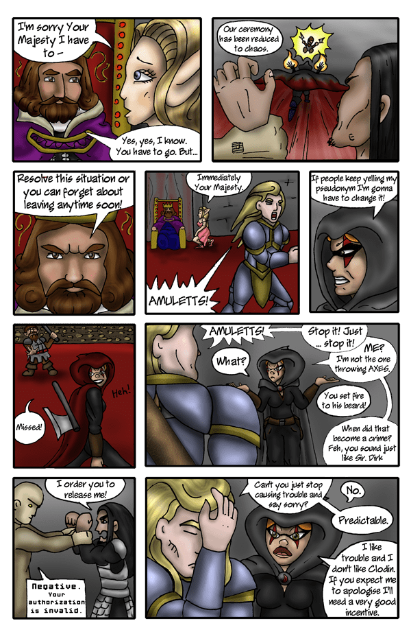 Pg 6: Just fight amongst yourselves...