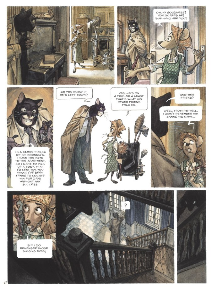Blacksad page 8