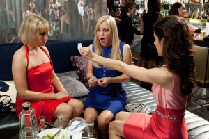 Ari Graynor, Anna Faris, and Kate Simses