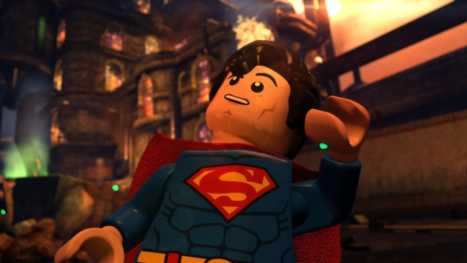 Superman in Lego Batman: The Movie