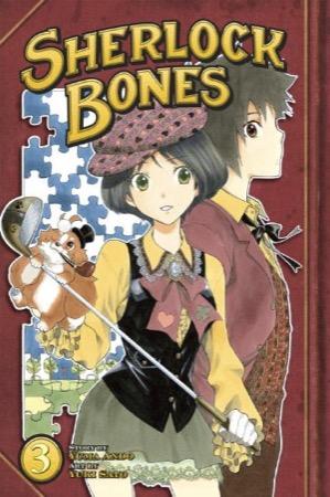 Sherlock Bones volume 3 cover