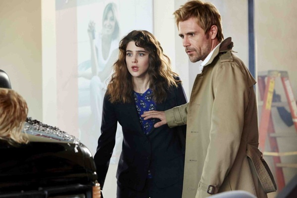 Constantine pilot image starring Lucy Griffiths and Matt Ryan