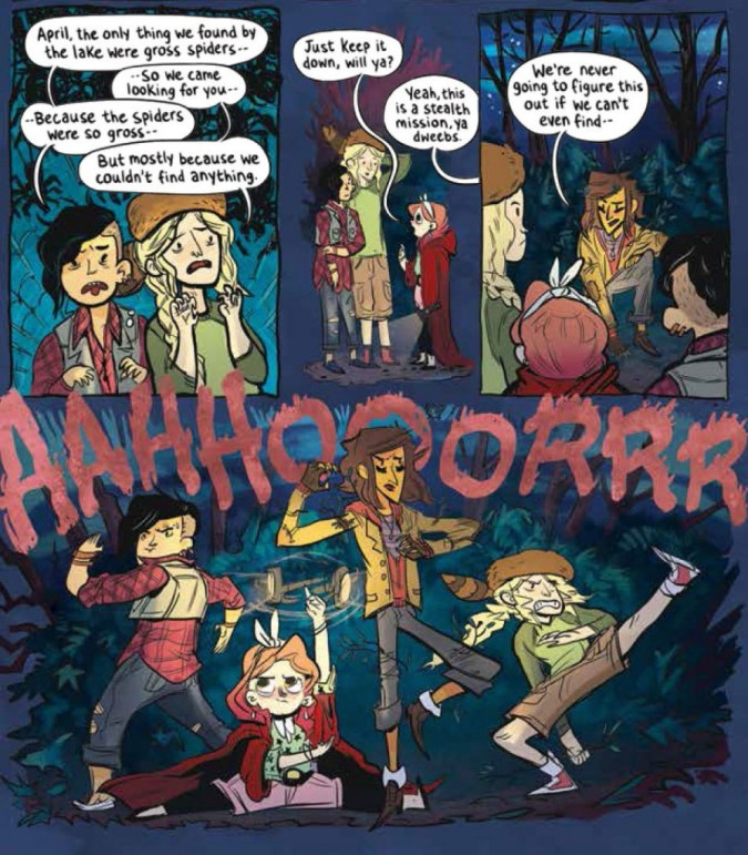 Lumberjanes art by Brooke Allen