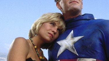 Matt Salinger as Our Hero with Kim Gillingham as Sharon
